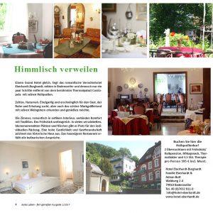 Hotel in Badenweiler