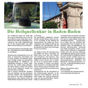Heilquellenkur Baden-Baden