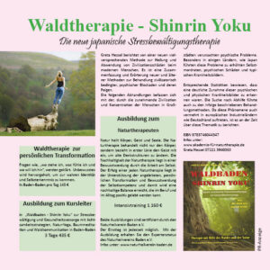Wald & Naturtherapie