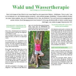Wald & Wassertherapie